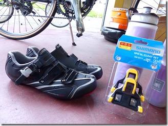 SPD-SLと靴の違い