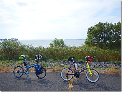 琵琶湖輪行130キロ