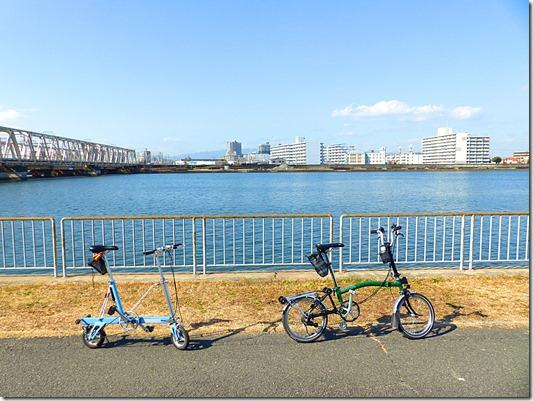 なにわ自転車道景色