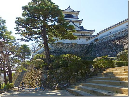 高知城に到着