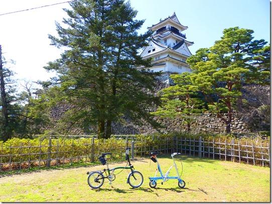 かっこいい高知城