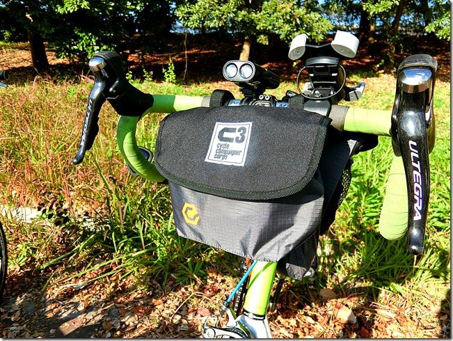 元々自転車用のフロントバッグ